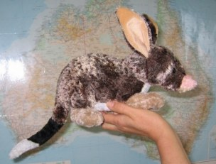 Easter bilby toy