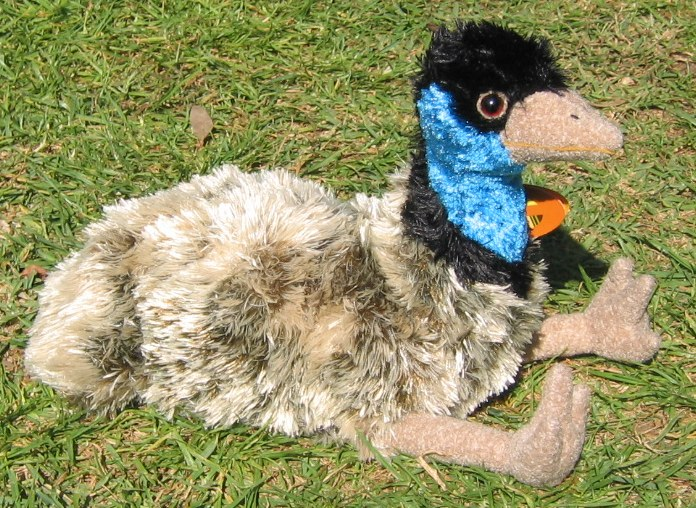 Soft emu toy
