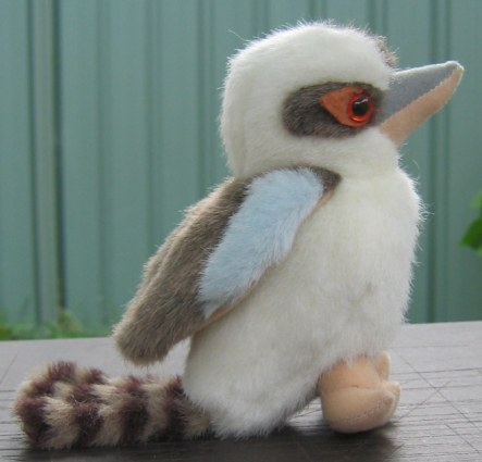 5 inch laughing kookaburra soft toy