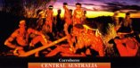 Corroboree in Central Australia post card
