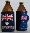 Australian Flag stubby holder