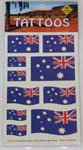 Aussie flag tattoo