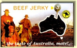 Christmas food gift - beef jerky from Downunder