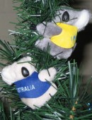 Christmas tree decoration - koala