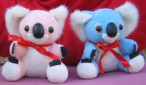 Baby koalas pink and blue