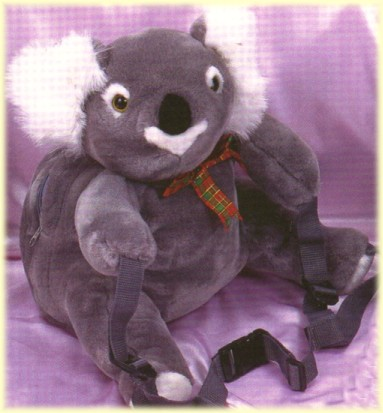 backpack koala toys