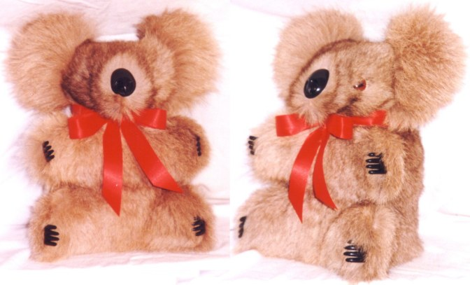 kangaroo fur koala bear toy