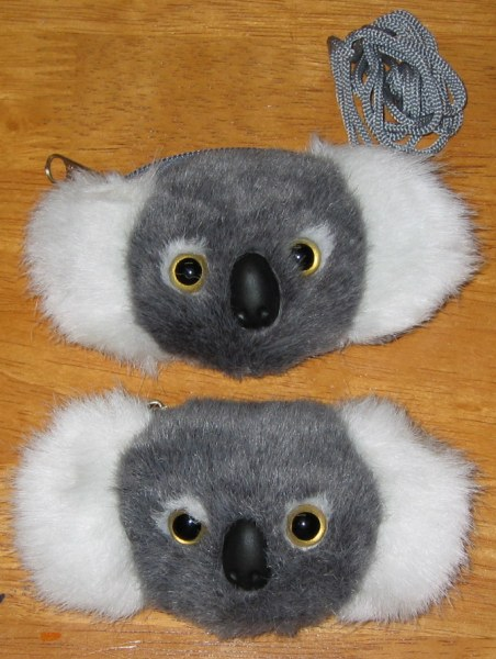 small koala shoulder purse