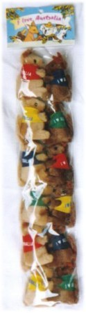 small clip on kangaroos in set of 12