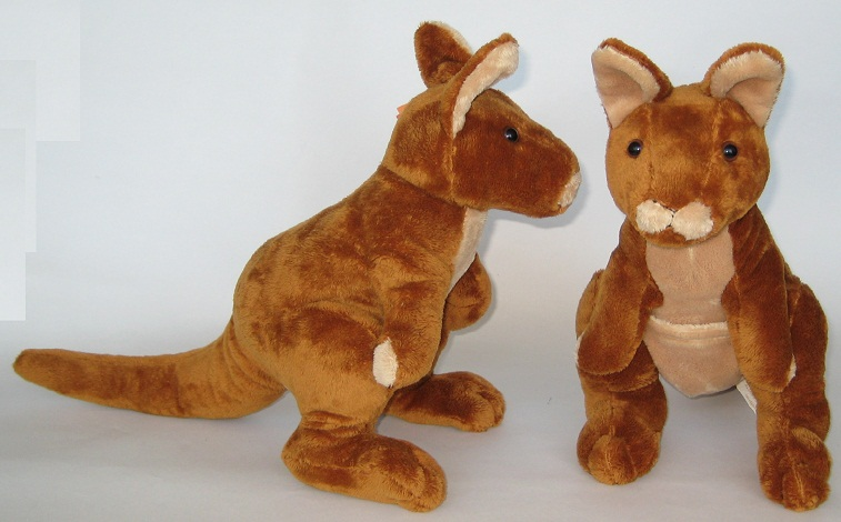Kylie - premium quality red kangaroo soft toy